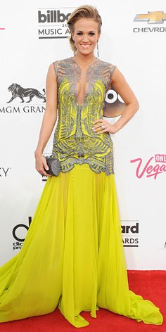 2014 Billboard Music Awards Red Carpet Fashions - Carrie Underwood from #InStyle