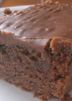 Double Fudge Coca Cola Cake (Cracker Barrel Copy Cat) ~ It's so moist and the icing is irresistable..