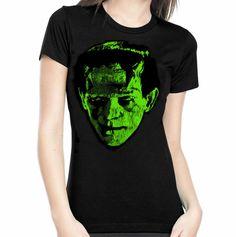 Frankenstein Head Women's Tee
