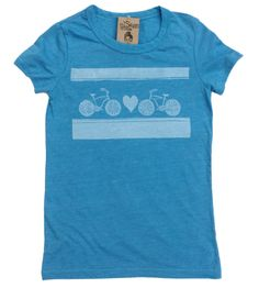 Bicycle Love women's eco tee