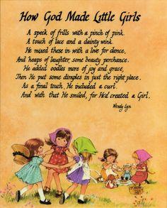 For a little girl's room