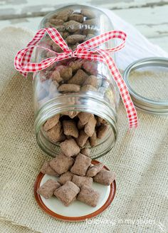 easy holiday chex mix recipe: Mexican Hot Chocolate Muddy Buddies!