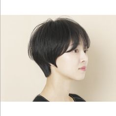 Short Hairstyles For Women, Hairstyles Haircuts, Cool Hairstyles, Short Hair Cuts, Short Hair Styles, Female Shorts, Asian Hair, Girl Short Hair, Natural Hair Styles