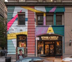 Take a photo of the Art Wall Project at the Denim  Supply New York store at 99 University Place and submit it to denimandsupply@pongr.com for a chance to win a gift from Denim  Supply Ralph Lauren