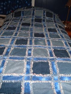 A new take on a denim quilt