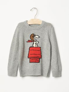 Gap's New Collection of Peanuts Clothes Will Help Introduce Your Kids to Charlie…