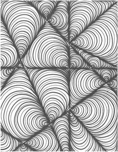 D.C. Unit 2 Project Doodle Patterns, Doodle Designs, Zentangle Patterns, Tangle Doodle, Doodles Zentangles, Doodle Art, Art Drawings For Kids, Square One Art, Art Optical