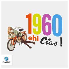 Say hello to history! #Piaggio #piaggiociao
