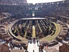 Coliseo (vista interior) by DivesGallaecia, via Flickr