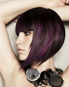 Love this hair style and color <3