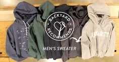 BACKYARD RECOMMENDS - MEN'S SWEATER