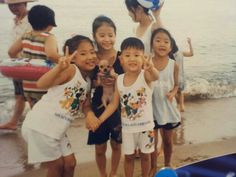 Chanyeol predebut as a little kid ! So cute !
