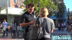 #Police Officer Picking Up #Girls #Prank #pickingupgirls