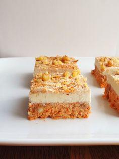 Will Bake for Books: Raw Carrot Cake