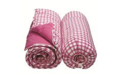 Gingham Sleeping Bag
