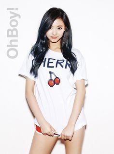 Tzuyu/maknae/twice/Taiwan/China/kpop/chou tzuyu /photoshoot Kpop Girl Groups, Korean Girl Groups, Kpop Girls, Nayeon, Twice Tzuyu, Beautiful Asian Women, South Korean Girls, Girl Crushes, Asian Woman