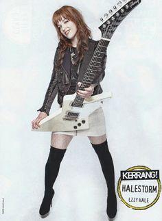 ♥ #LzzyHale #Halestorm #Kerrang! Posters