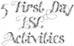 5 First Day Activites | ESL Kids Games First Week Activities, Activities For Teens, English Activities, Summer Activities, Efl Teaching, Teaching Activities, Teaching English, Icebreaker Activities, Teaching Ideas