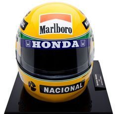 Tri Campeonato Mundial F1 - Réplica do Capacete - Sid Special Paint