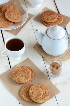 Snickercrinkle Cookies...a hybrid of Snickerdoodles and Molasses Crinkles! via @Faith Gorsky Safarini