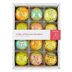 Michael Mabry Ornaments (Set of 12) in Holiday Décor | The Land of Nod
