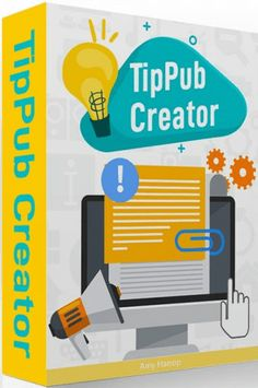 TipPub Creator Review, Bonus From Amy Harrop - Create Content 20X Faster! Writing Lines, Powerpoint Format, Cloud Based, Self Publishing, Internet Marketing, The Creator, Printables, Content, Amy