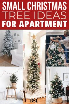 so obsessed with these apartment christmas tree ideas!! i dont have much space so i love the alternative tree ideas Tabletop Christmas Tree, Small Christmas Trees, Canning, Holiday Decor, Home Decor, Decoration Home, Room Decor, Home Canning, Interior Design