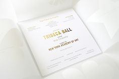New York Academy of Art, Tribeca Ball Gala.Event Branding and Creative Direction. Fashion Invitation, Invitation Design, Invitations, Van Cleef Arpels, Layout, Graphic, New Art, Identity, Place Card Holders