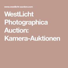 WestLicht Photographica Auction: Kamera-Auktionen Auction