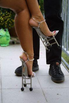 Weird High Heels | Weirdest High Heels | LUUUX