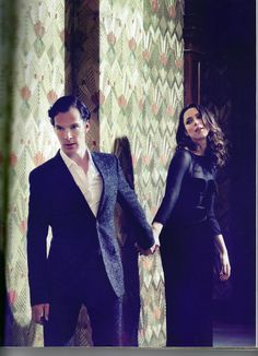 Parade's End: Benedict Cumberbatch and Rebecca Hall for Harper's Bazaar.