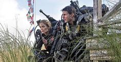 Emily Blunt and Tom Cruise in the first co-star pic released for 'Edge of Tomorrow' formerly titled 'All You Need Is Kill' http://www.tomcruise.com/blog/2013/07/15/first-tom-cruise-emily-blunt-all-you-need-is-kill-pic-released/