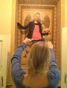 #photo #girl #religion #faith #icon #blasphemy #angel #wings #church #orthodoxy #christianity #sanctuary #society #postmodern #jpg #postmodernjpg