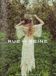 rue de seine available at a&be bridal shop Denver, CO minneapolis, mn  #bohobride #bohoweddingdress