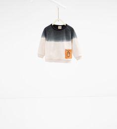 Ombré sweatshirt with pockets-SWEATSHIRTS-BABY BOY | 3 months-3 years-KIDS | ZARA United States