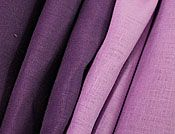 """55"""" Wide - """"Grape & Lilac"""" 100% Linen - Very High Quality"""