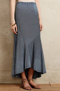 Anthropologie's Pieced Stripe Maxi Skirt by AG.  My one hit wonder.