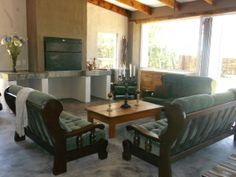 Guesthouse Indoor Braai Stables, Swimming Pools, Dining Room, Cottage, Indoor, Interior, Kitchen, House, Furniture