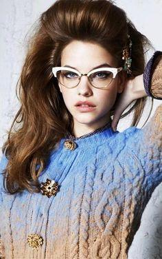 Vintage style frames, eyewear