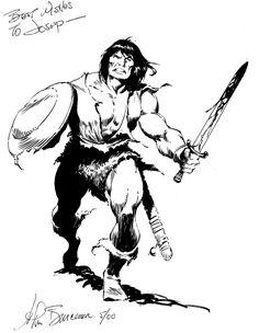JOHN BUSCEMA, CONAN 2000 Comic Art