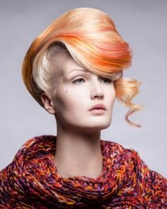 Goldwell Color Zoom Finalist: New Talent Finalist: Candice Harder,
