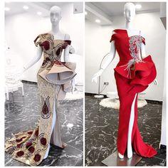 Fashion Magic: Beautiful and Trendy Peplum Dresses - Wedding Digest Naija Lace Dress Styles, African Lace Dresses, Latest African Fashion Dresses, Gala Dresses, Couture Dresses, Peplum Dresses, Gown Pattern, African Traditional Dresses, Africa Fashion