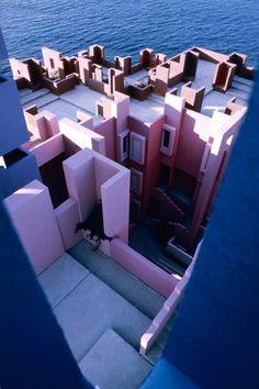 La Muralla Roja Architecture | Ricardo Bofill | Calpe Spain                                                                                                                                                                                 More