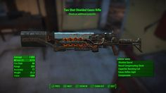 Is this the highest damage (non-fatman) weapon in Fallout 4? Two Shot Gauss Rifle @ 604 #Fallout4 #gaming #Fallout #Bethesda #games #PS4share #PS4 #FO4