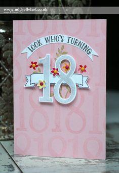SU! Number of Years stamp set; Large Numbers Framelits - Michele Last