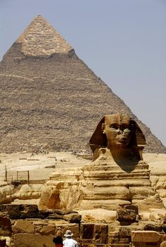 The Great Spinx, Egypt  ~ hopefully it gets safer over there in my life time.  Would love to see Egypt.