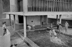 """rene burri… le corbusier's """"unité d'habitation"""", marseille, 1959 @ magnumphotos"""