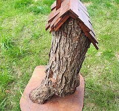 Handmade Fairy Houses made to order.