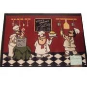 Fat Italian Chefs Kitchen Rug