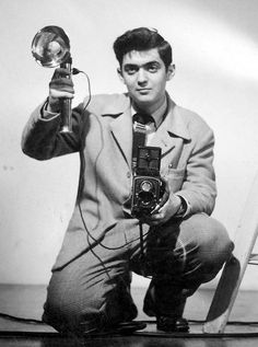 Stanley Kubrick Self-portrait, New York City     c.1946